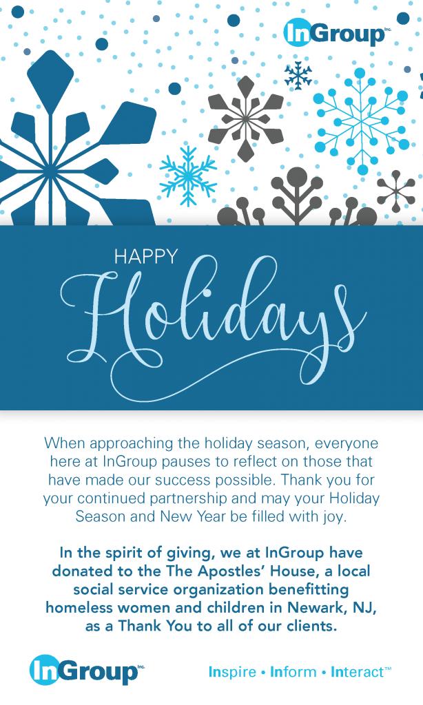 InGroup Happy Holiday 2019